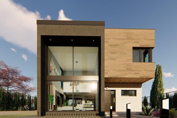 modelo-qcasa-vancouver casa-prefabricada-de-hormigón-exposición-en-madrid